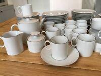 Beautiful white Thomas porcelain dinner set and tea set