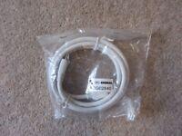 1.5M White HDMI Lead