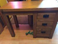 Excellent solid wood desk