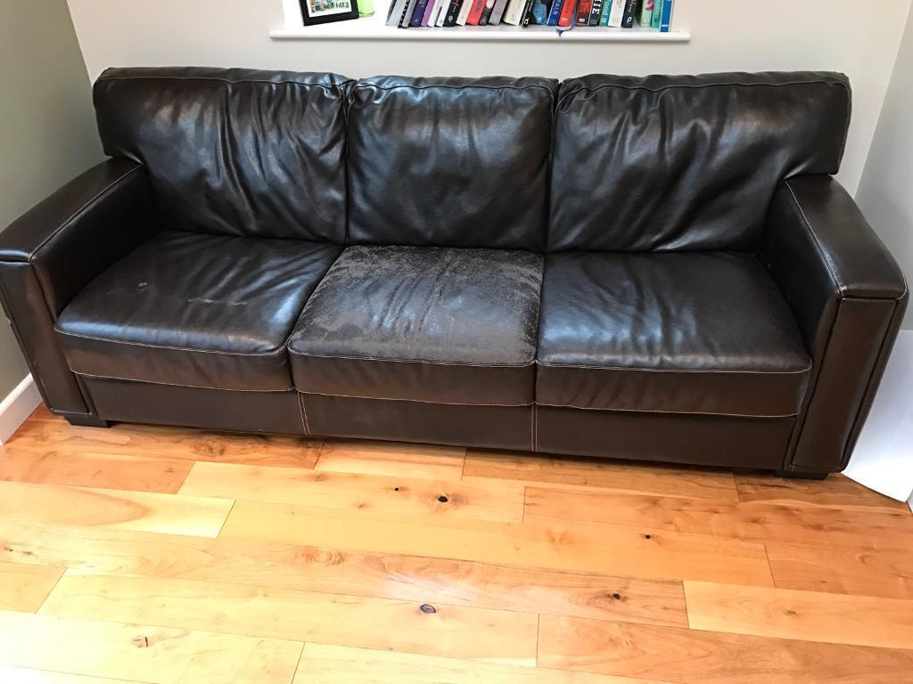 Leather Sofa