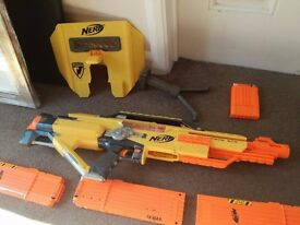 Nerf Gun stampede esc model (Working with clips and darts)