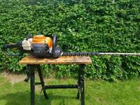 "STIHL HS81R hedge cutter with 30"" cut"
