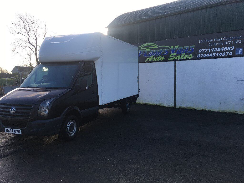2014 CRAFTER BOX VAN WITH TAIL LIFT 1 UK OWNER FINANCE AVAILABLE