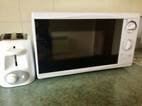 Microwave & Toaster - Excellent Condition - Must GO!