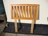 Wooden Headboard For Single Bed.....FREE!