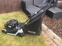 Hayter push drive petrol lawn mower