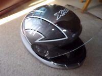 Motorcycle Helmet, Full Face Size S 56, Motorbike Helmet Size S 56