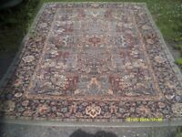 CARPET in ATTRACTIVE TRADITIONAL COLOURS & PATTERN , 55 inches WIDE & in V.G.C.