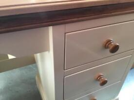 Painted dressing table