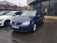 2007 VOLKSWAGEN GOLF MATCH 1.9 TDI 5 DOOR HATCHBACK BLUE FULL SERVICE HISTORY 12 MONTHS MOT 2 KEYS