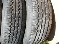 WANTED 245/70/16 4 Tires
