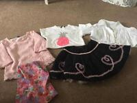 5 items of girls clothing Age 5-6