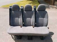 Triple Rear Van Seats PRICE DROPPED FROM 300 FOR FAST SALE