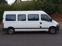 2009 RENAULT MASTER LM35 2.4 DCI 100 BRAKE 6 SPEED BUS READY TO CONVERT ALL THE MAIN BITS ARE DONE