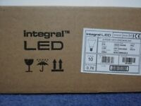 Brand New Pack of 10 Integral Led Bulbs 3.6 W Warm White A* Grade