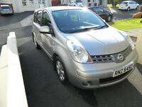 ***Nissan Note 1.4 Acenta, Low Miles, Service History, High Spec, Spacious Family Car***