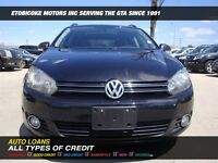 2011 Volkswagen Golf DIESEL /NAVI/LEATHER/PANORAMIC SUNROOF