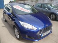 Stunning Ford FIESTA Zetec,3 dr hatchback,FSH,full MOT,runs and drives as new,£30 tax,28,000 miles