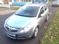 **Cheap Vauxhall Corsa 2009- AUX, low tax and insurance, very economical**