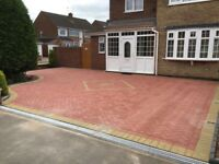 Landscaping and paving specialists flagging concrete Patios building work