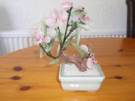 Glass Bonsai Tree Ornament