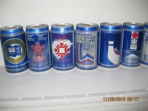 WINTER OLYMPICS 1988 COMPLETE BEER CAN + POSTER COLLECTION Kitchener / Waterloo Kitchener Area image 4