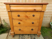 Edwardian Pine Scotch Chest of Drawers