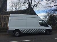 Van (£1500 off price!) - Ford Transit 2.4TDCi 350 High Roof Duratorq 3dr, LWB,good cond,MOT August