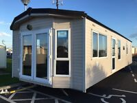 Superb pre owned caravan for sale on Church Point. Northumberland. Must be viewed.