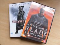 BLADE & BLADE 2 DVDS