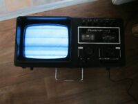 Plustron portable tv