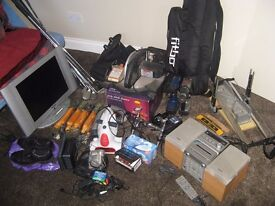 Job Lot for sale, having a clear out, some good stuff in there for resale Car Boot Sale or eBay