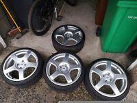 Mk1 focus RS alloys 4x108