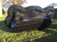 1580 Litre - Ubbink IR-SV - Large Preformed Rigid Pond Liner - 3200 x 1850 x 650 mm
