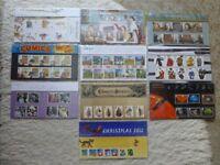 Stamp Presentation Packs 2012 - 2013