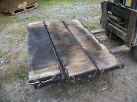 reclaimed oak boards, bog oak