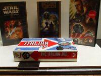 4 VHS tapes STAR WARS-RETURN of the JEDI _The ITALIAN JOB -BLADE RUNNER