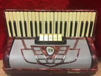 German piano Accordion 120 bass