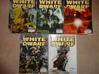White Dwarf Games Workshop 5 Issue Job Lot Issues 308, 309, 310, 311, 312