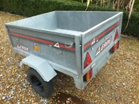 Erde 100 galvanised box trailer