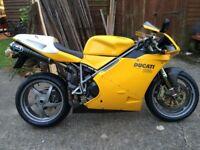 Ducati 998 2002 termigoni's, ohlins px ktm adventure