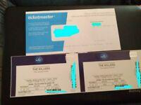 2 x The Killers - 28/11/17 - 02 London