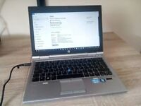 Quick Compact HP Elitebook 2570p i5 2.6ghz 4gb Ram 500gb HDD Windows 10 Laptop