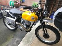 BSA Bantam trials 1966 175cc