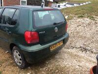 VW Polo 1.4 Match Green