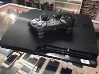 PlayStation 3 with one wireless controller