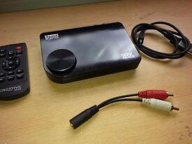 Soundblaster THX TruStudio PRO - bargain sound card