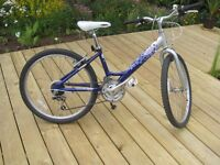 Girls bike, Raleigh, 24 inch wheel