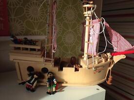 John Crane Tildo Paragon wooden Pirate Ship