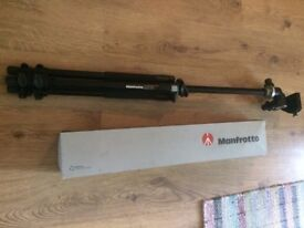 Manfrotto 055XPRO3 Tripod + Manfrotto 410 Junior Geared Head